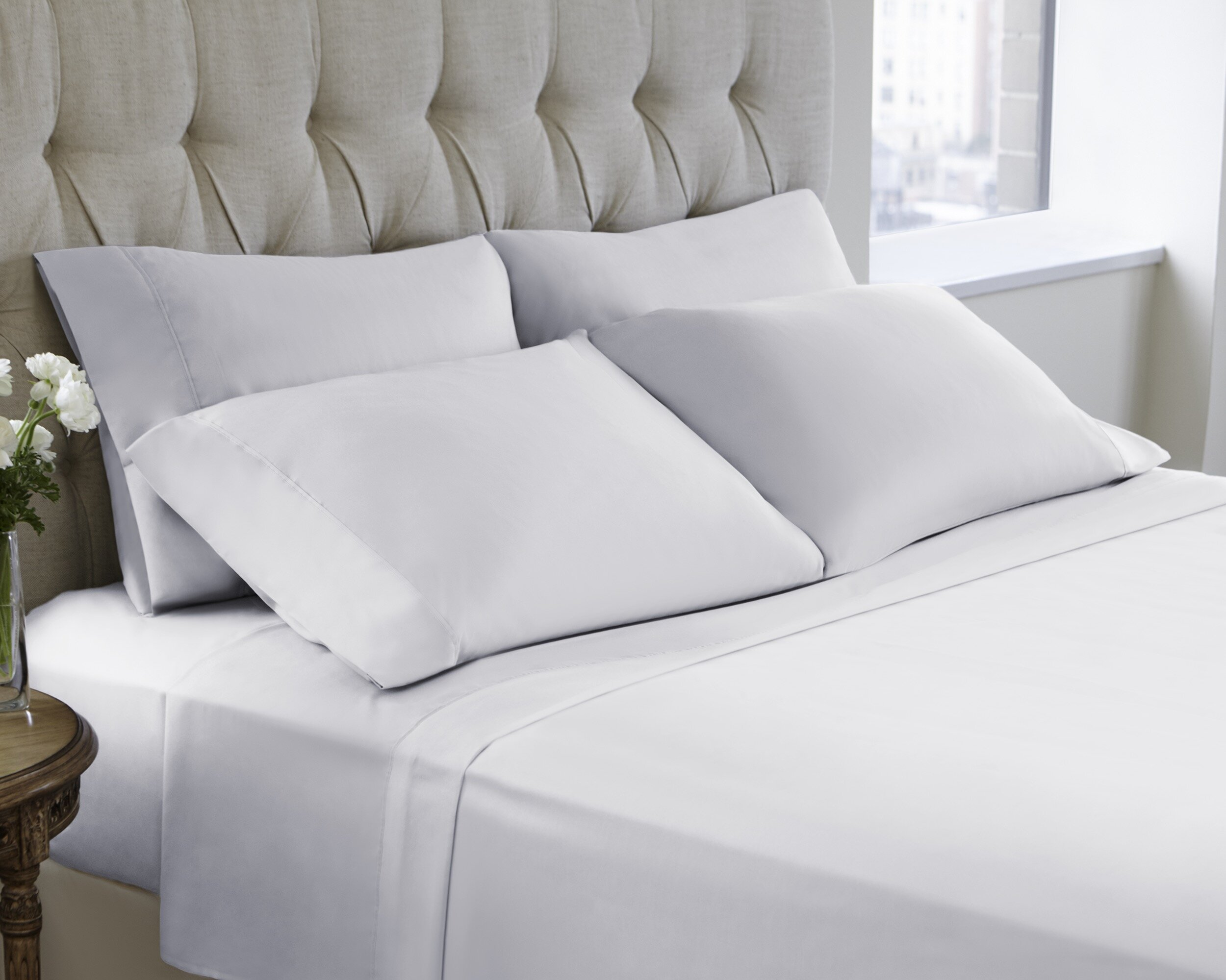 Make hassle-free perfect bedding with the fitted sheet