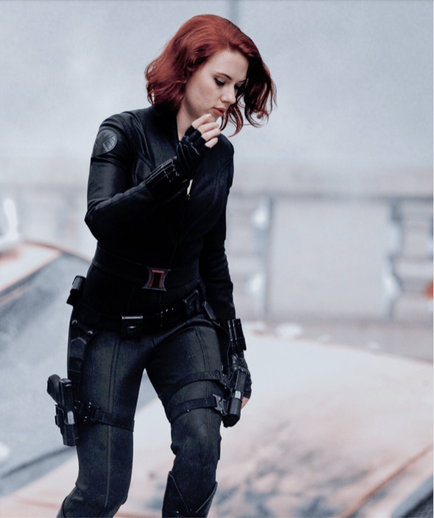 black widow in marvel movies in order