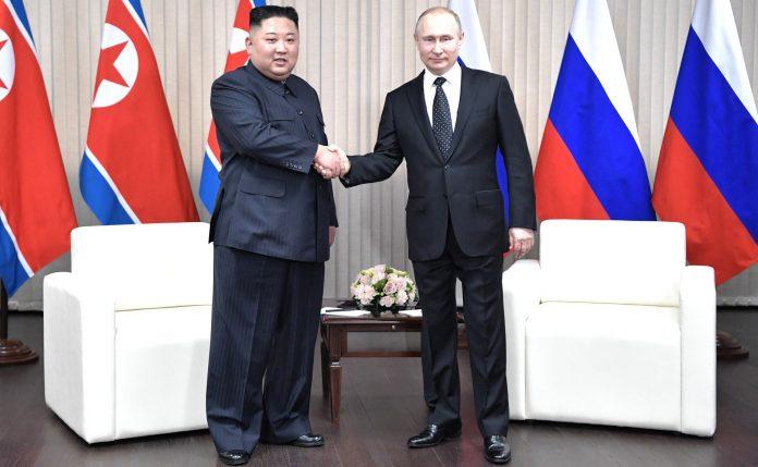 Vladimir Putin Honors Dictator