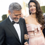 Amal Clooney and husband
