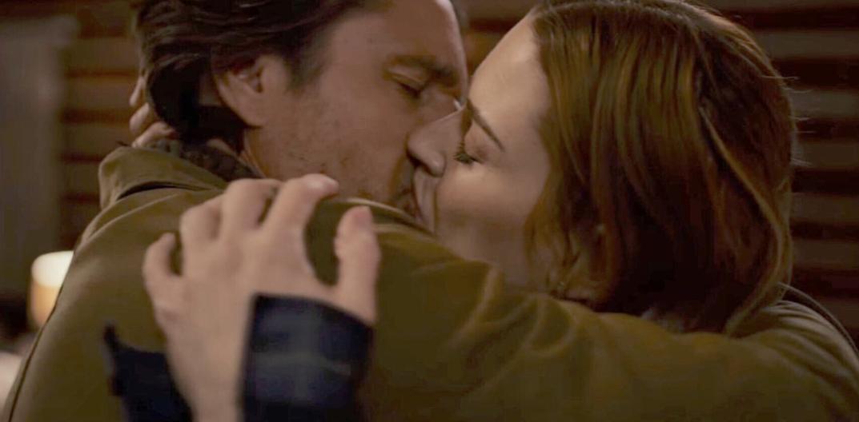 Mel and Jack kiss virgin river season 1
