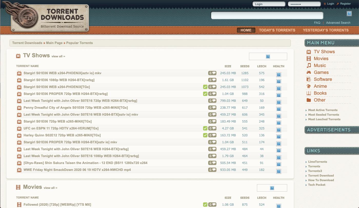 best site like KickassTorrent