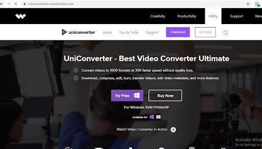 Steps to convert mp4 to wav with Wondershare UniConverter