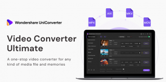 UniConverter to convert video