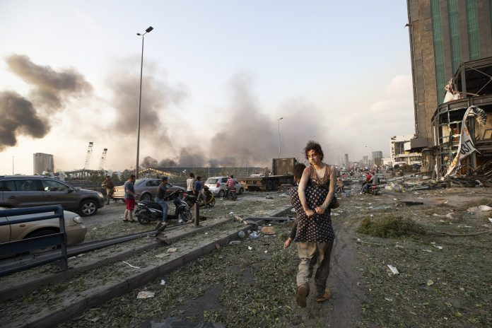 2,750 Tons of Ammonium Nitrate Exploded in Beirut injuring 4000 people 87 confirmed dead