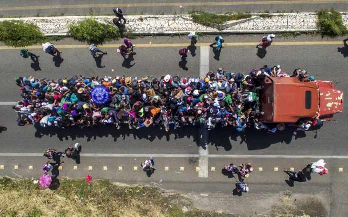 Migrant Caravan Faced a Roadblock and Sent Back to Honduras