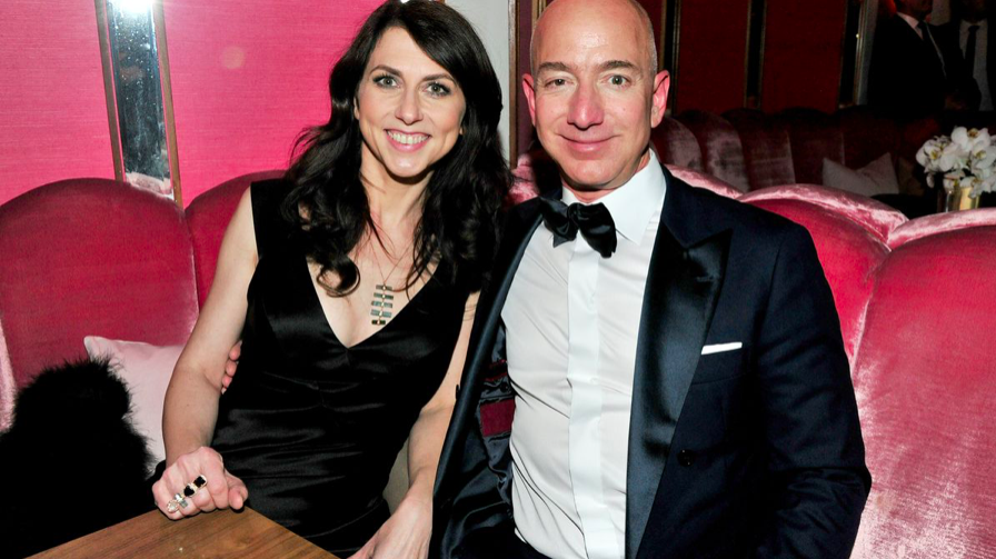 Jeff Bezos wife Mackenzie Scott