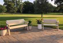 outdoor park tables