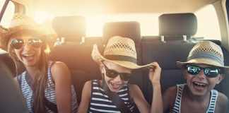 Summer Trips Family Enjoy