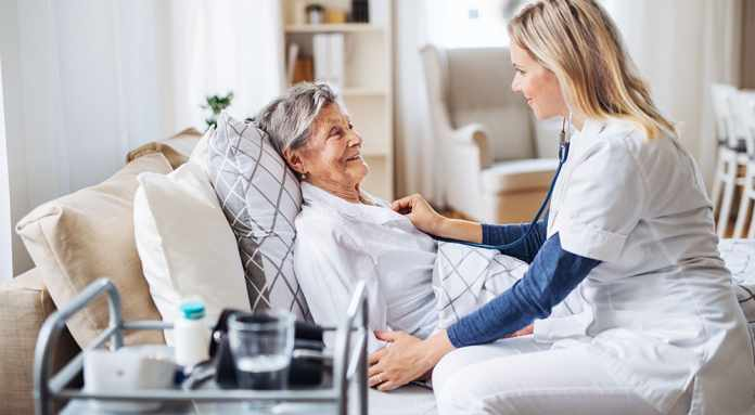 Caregiver through an Accredited Agency